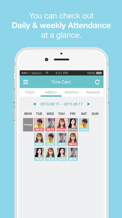 Hello Office Employee Work Schedule  Attendance Tracker \u2013 Record