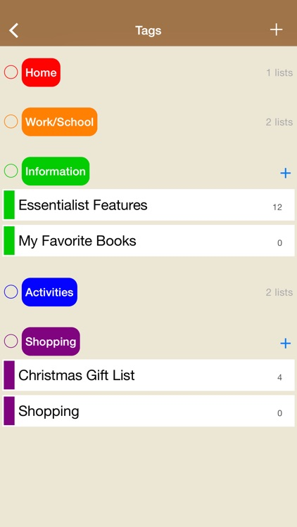 Essentialist - Checklist, To-do List and Reminder for work, home and