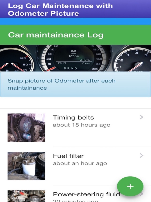 Car Check Maintenance Log on the App Store