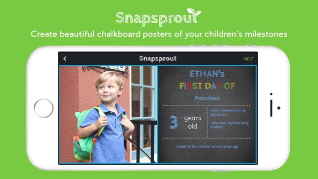 Snapsprout on the App Store