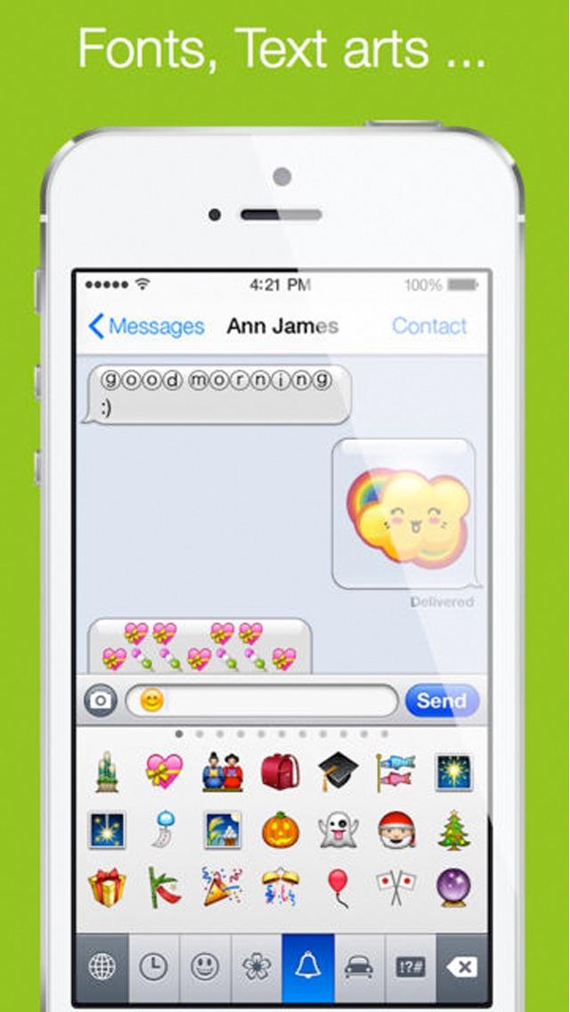 Emoji Keyboard  Emoticon - Animated Emojis Stickers  Pop Emoticons - cool text message art