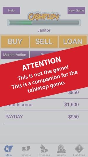 CASHFLOW Financial Statement Calculator on the App Store