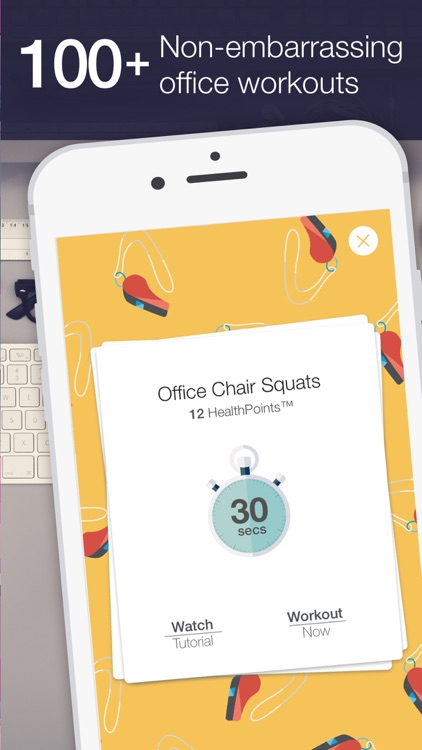 Daily office workout reminders  exercises to stay healthy and