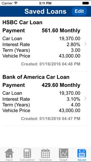 Car Loan Calculator Plus on the App Store - loan interest calculator