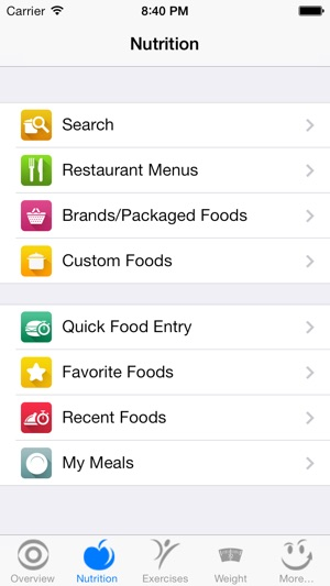 CalorieSmart Calorie Counter, Nutrition Tracker, Diet and Fitness - nutrition tracker