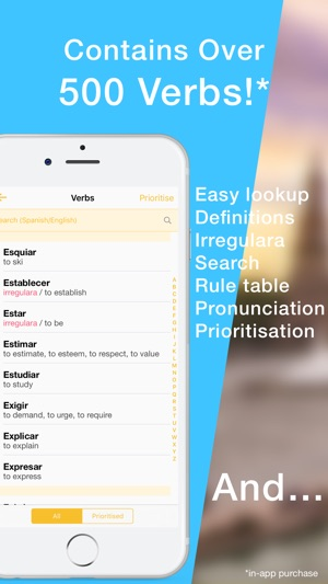 Learn Spanish Verb Conjugation on the App Store