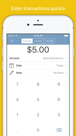 Expense Keep - Monthly Spending Tracker and Budget Planner with