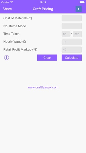 Craft Pricing Calculator on the App Store - product pricing calculator