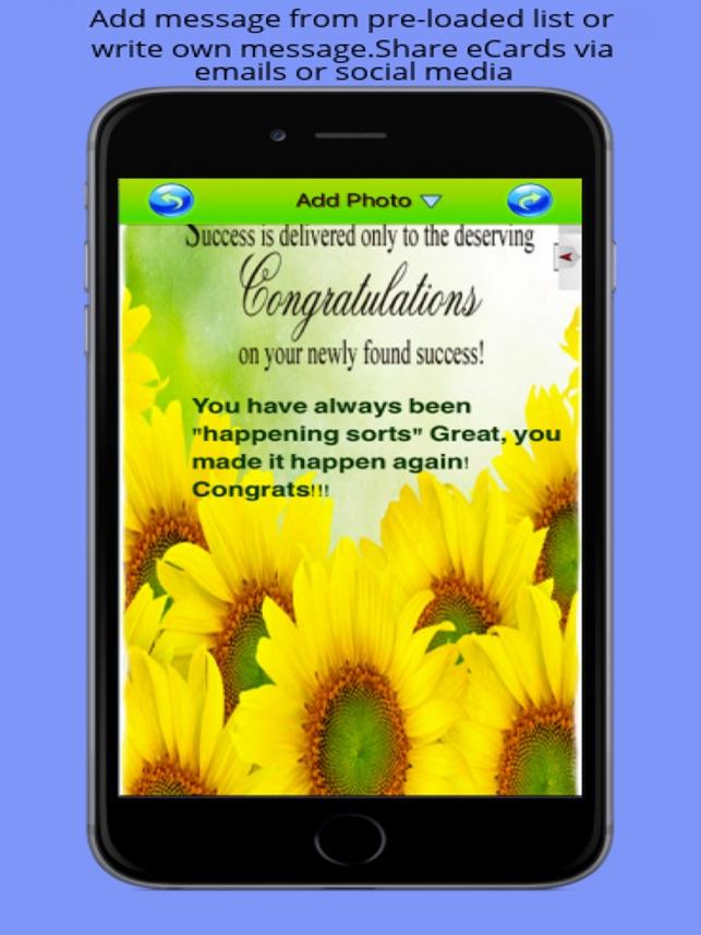 Best Congratulation eCards Maker - Design and Send Congratulation
