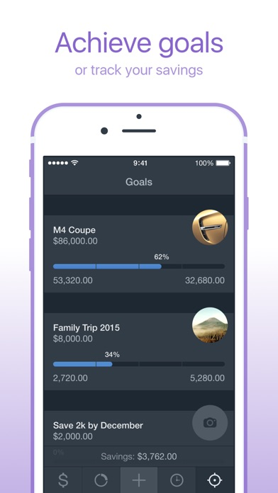 Saver \u2013 Personal Finance, Income  Expense tracker - by Alex