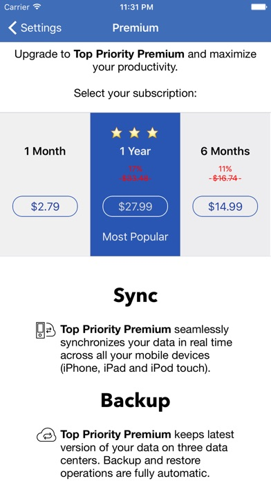 Top Priority™ - #1 Daily Task Manager App Price Drops