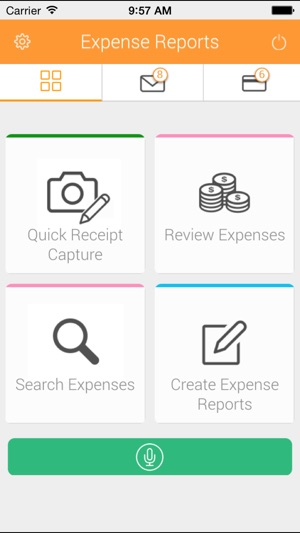 Expense Reports from AppZen on the App Store