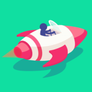 Stickman Rush by Ketchapp App Icon on #iconagram.