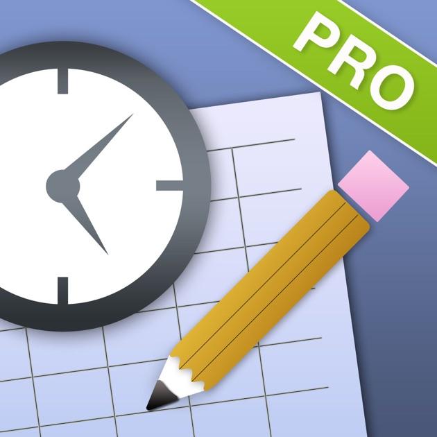 Timesheet PRO -Timecard Clock Calculator Tracker on the App Store