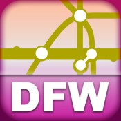 Dallas Transport Map - Rail Map for your phone and tablet