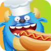 Hug and Dug - Monster Chef - Baking and cooking with cute monsters - Preschool Academy educational game for children アートワーク