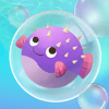 Psychotropic Games - Bubble Fish Mania PRO - Full Underwater Puzzle Match Blast Version アートワーク