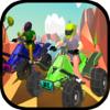 Syeda Kausar fatima - Snazzy ATV Racing アートワーク