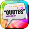 "Chanatda Thianthae - Daily Quotes Inspirational Maker "" Rainbow Art "" Fashion Wallpaper Themes Pro アートワーク"