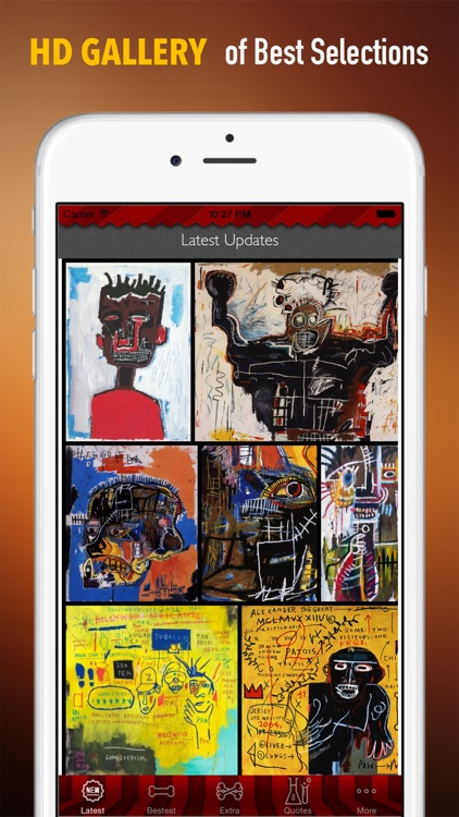 Jean-Michel Basquiat Paintings HD Wallpaper and His Inspirational