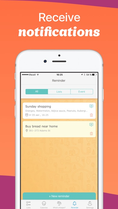 Avocadolist Shopping List, Family Grocery Lists on the App Store - shopping lists