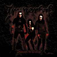 Damned In Black Immortal song
