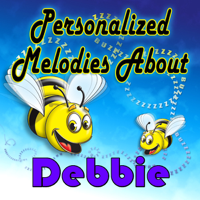 Debbie, Sing Along to Shake-a-doo Rock Personalized Kid Music