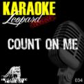 Free Download Karaoke Hits Count On Me (Karaoke Version In the Style of Bruno Mars) Mp3