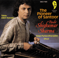 Raga Puriya Dhanashree: Gat In Medium Teen Taal Pandit Shivkumar Sharma & Zakir Hussain