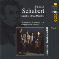 String Quartet in B-Flat Major, D 36: IV. Allegretto Leipziger Streichquartett MP3