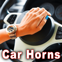Four Short Audi A4 Horn Blasts Sound Ideas MP3