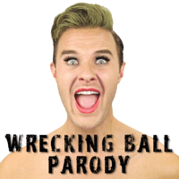 Wrecking Ball Parody Bart Baker