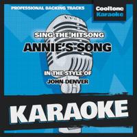 Annie's Song (Originally Performed by John Denver) [Karaoke Version] Cooltone Karaoke song