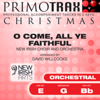 O Come All Ye Faithful (Medium Key - G - Orchestral Performance backing track) Christmas Primotrax