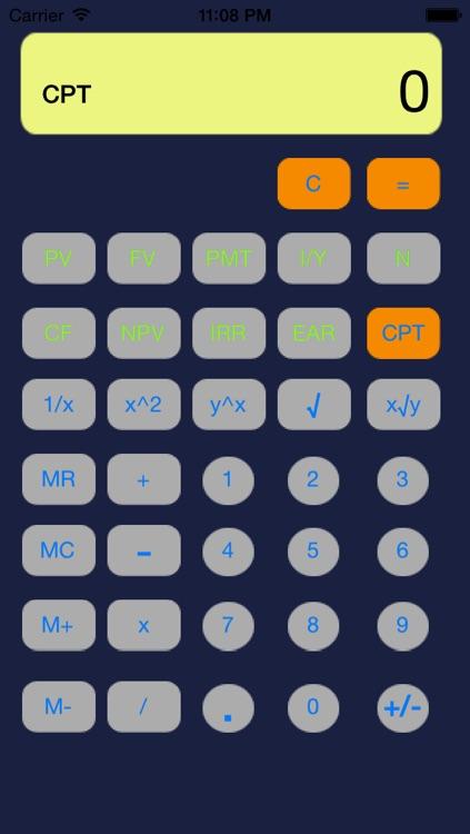 Financial Calculator Pro FREE by JIANQIANG ZHAO - financial calculator