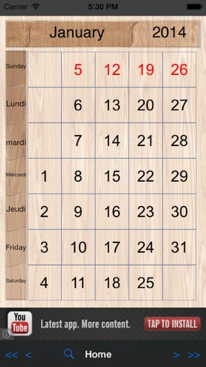 Perpetual-Calendar on the App Store