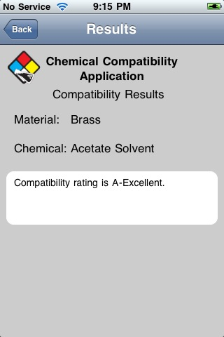 Chemical Compatibility Database by Cole-Parmer Instrument Company