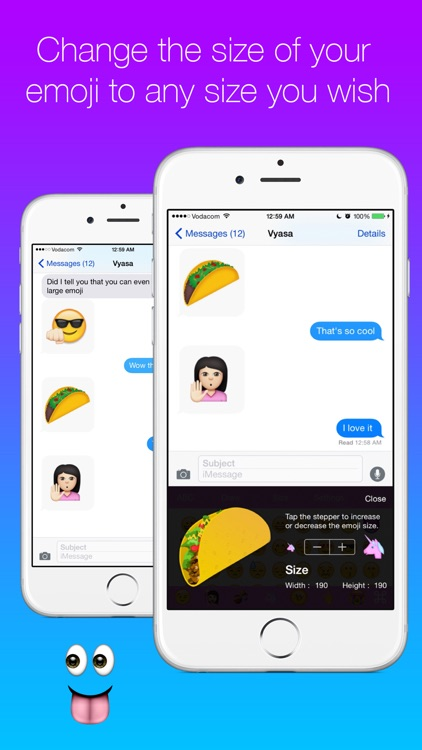 New Cool Emoji Keyboard - emoticons for texting with font art - cool text message art