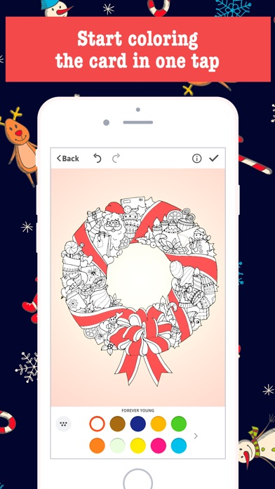 Merry Christmas Card Maker - Free Greeting Cards - by Richard Levi