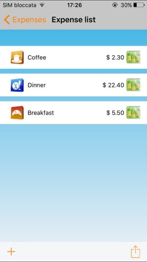 JSmart Expense Note on the App Store