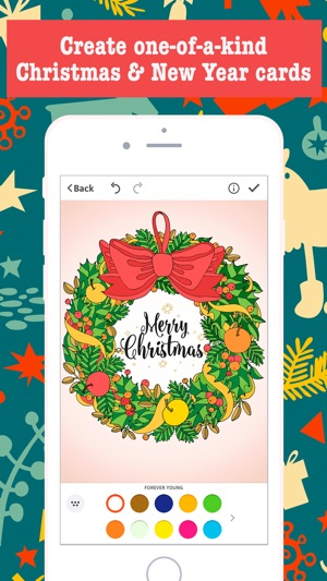 Merry Christmas Card Maker - Free Greeting Cards on the App Store