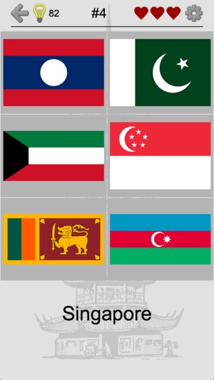 Asian Countries  Middle East - Flags and Capitals on the App Store