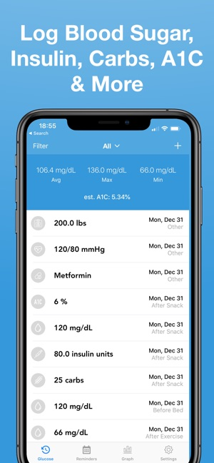 Glucose - Blood Sugar Tracker on the App Store