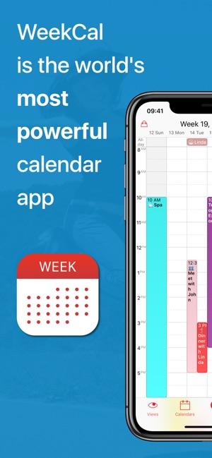 Week Calendar on the App Store