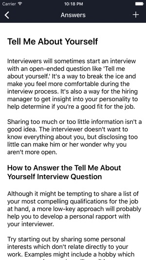 Job Interview Questions And Answers on the App Store