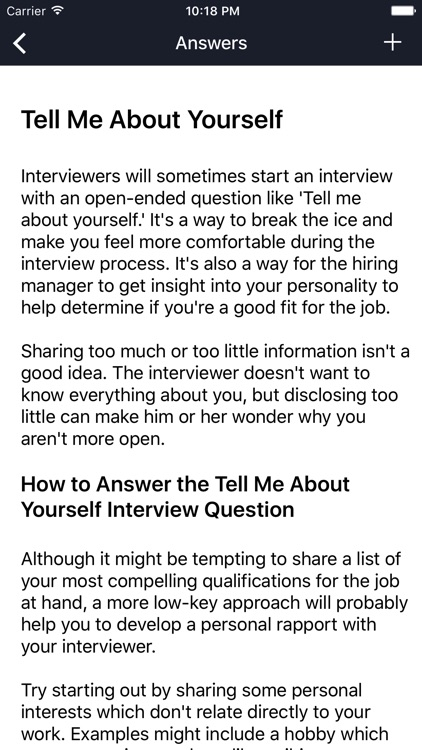 Job Interview Questions And Answers by Vinh Tran - personality interview questions and answers