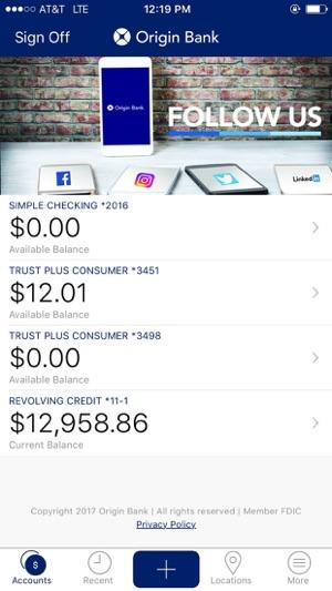 Origin Bank on the App Store