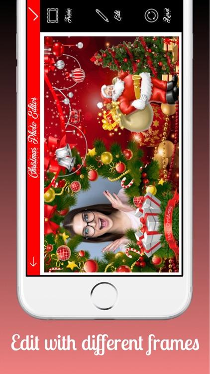 Christmas Frame Editor by PT Patel
