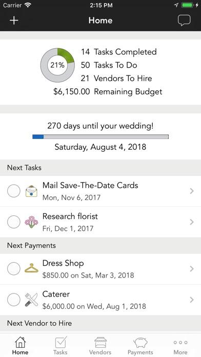 WeddingHappy - Wedding Planner - Revenue  Download estimates - wedding budget estimates