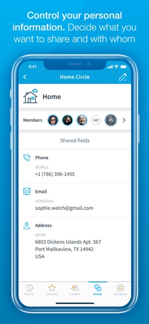 Lifekee Contact Address Book on the App Store